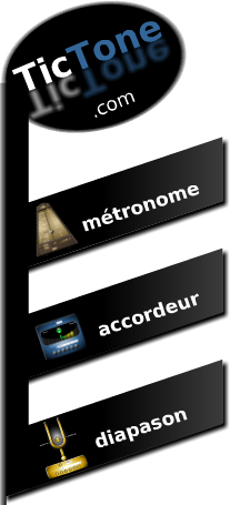 le logo et menu du site