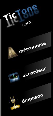 le logo et menu du site